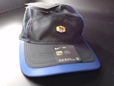 Nike AW84 Aerobill Reflective Running Hat/Cap Black (NEW)