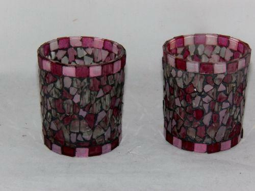 Stained Glass Candle Holder eBay