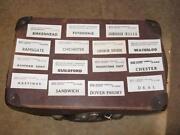Railway Luggage Labels