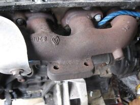 Renault Espace MK4 2.2DCI exhaust manifold