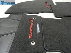 mazdaspeed 3 floor mats ebay. Black Bedroom Furniture Sets. Home Design Ideas