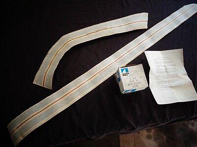 1972 AMC Gremlin Rally Stripes Partial Kit; RH Door-Quarter Panel 8121476 NOS