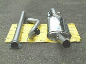 Powersprint Gruppe A Sportauspuffanlage 60mm für Golf 2,GTI;16V,G60,VR6,