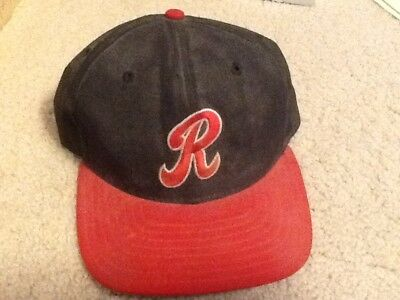 bbb0630e225 Rochester Red Wings GAME USED HAT Rick Krivda Baltimore Orioles Baseball Cap  MLB