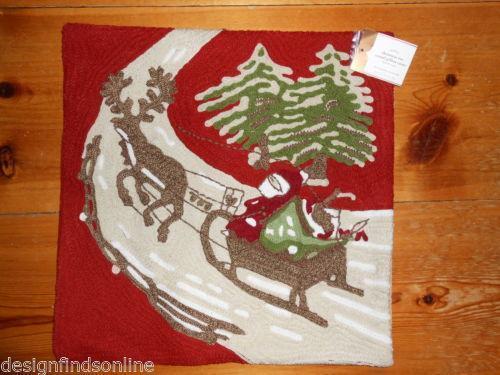 Pottery Barn Christmas Pillow Ebay
