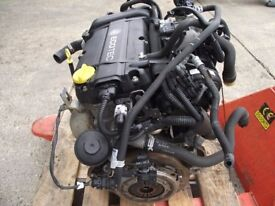 Vauxhall Astra H / Corsa D 1.4 16v Z14XEP Engine Approx 31,000 Miles ( 30 day warranty )