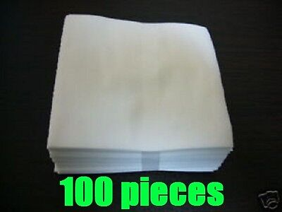 Cotton Disc Sleeves for MINI LP CDs 100