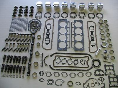 Deluxe Engine Rebuild Kit 1959-61 Buick 401 NEW pistons rings bearings valves