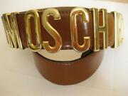 Vintage Moschino Belt