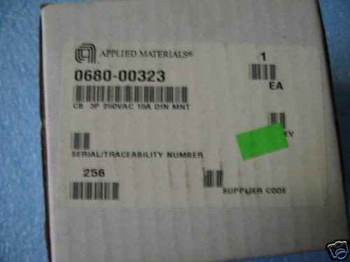 3 AMAT Applied Materials 0680-00323 Circuit Breaker
