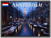 Amsterdam Fridge Magnet