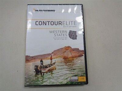 Humminbird Contour Elite Western States Dvd Software 600012 1 Marine Boat