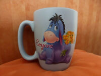 Original Disney Store Eeyore Blue large character mug
