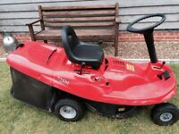drive on petrol lawnmower key start model in mint condition £595 px welcome