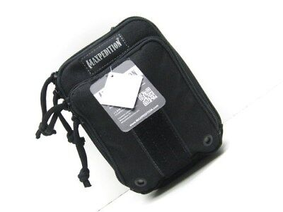 Maxpedition Tactical Black Small Ziphook Pocket Organizer Pouch Bag Case PT1535B