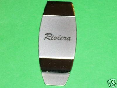 RIVIERA script  -  money clip
