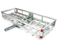 rack transport aluminium pour voiture hitch 2'