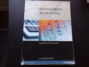 Management Accounting Textbook Carina Heights Brisbane South East Preview