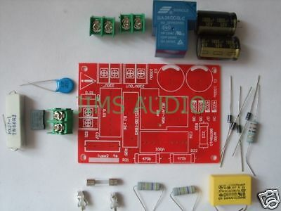 Soft starting switch full kit for power amplifier !