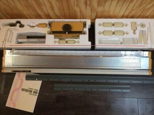 Singer SR150 Bulky/Chunky Ribber Machine Knitting Complete!