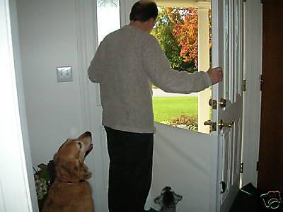 THE Pet Barrier - Retractable Dog Cat Gate - UNIQUE !!