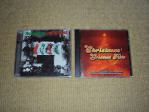 2 CDS CHRISTMAS' GREATEST HITS & 2 DISCS THE ESSENTIAL CHRISTMAS