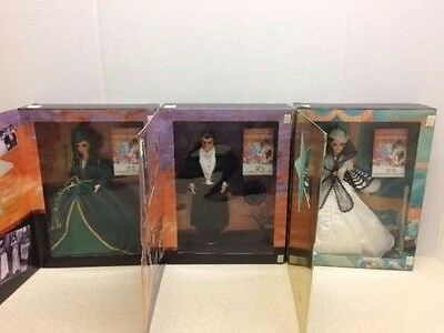 Lot of 3 Barbie - Gone with the Wind Hollywood Legends 1994 Mattel - New in Box!