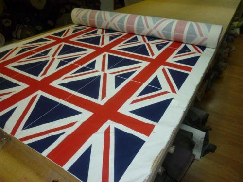 Union Jack Fabric Ebay