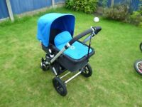 Bugaboo Cameleon/Chameleon 2nd gen Travel System with Pram and Pushchair.GREAT CONDITION