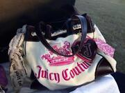 Juicy Couture White Velour