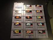 SNES RARE Game Lot