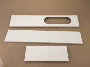Window slider for portable air conditioner , fenêtre curseur