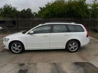VOLVO V50 DIESEL ESTATE MANUAL 1.6 SE 5 DOOR WHITE 96000 MILES £35 PER WEEK