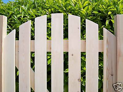5ft' x 3ft - ARCHED TOP Heavy Duty Wooden Garden Side Gates - PLANED SMOOTH
