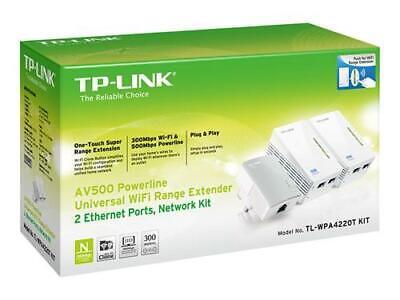 Power line TP-LINK Av500 powerline universal wifi range extender, 2 ethernet
