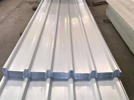 Box profile metal roofing