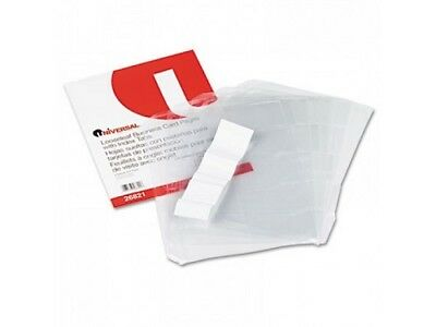 Loose Leaf Business Card Pages For 3 Ring Binder Holds 100 Cards W Tabs 26821