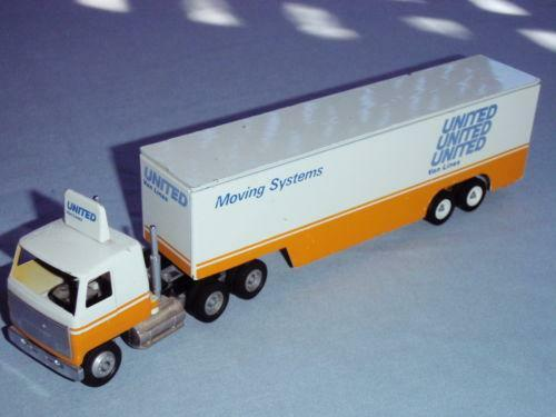 Toy Semi Trucks And Trailers : Toy semi truck trailer ebay