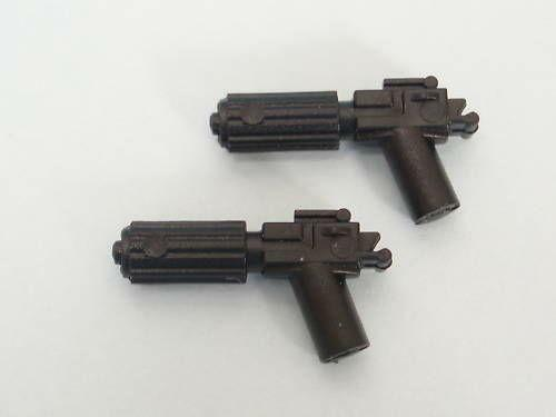 New Pieces Lego Star Wars 6x Black Small Blaster Pistol Gun Weapon 92738