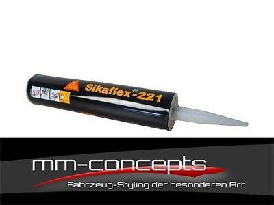 Sikaflex 221 300 ml in schwarz Original Spoilerkleber Karosseriekleber Kleber