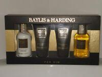 Brand new Men's Baylis & Harding 4 Piece Gift Set