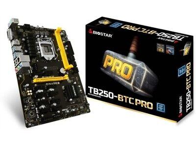 Biostar TB250-BTC PRO Core i7/i5/i3 LGA1151 B250 DDR4 SATA PCI *Repaired*