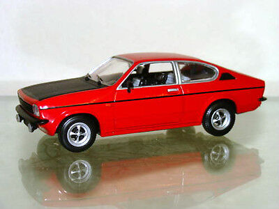 "Detail Cars 1975 Opel Kadett ""C"" GTE Coupe Red Diecast 1/43 Very Rare #451 MIB for sale  Canada"