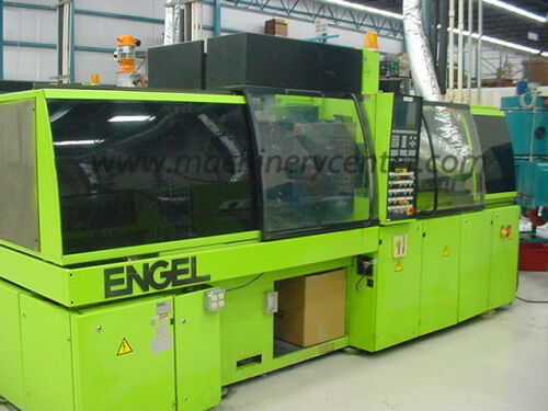"65 Ton, 1.2 & 2 Oz. Engel ""TieBarless"" Two Color Injection Molder"