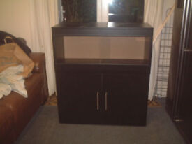 brand new 3ft vivarium and cabinet in black