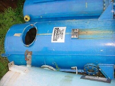 300 Gallon Lined Steel Filter Pressure Tank 100 Psi