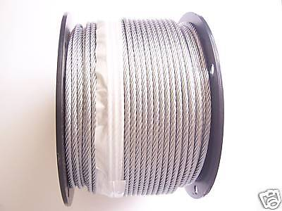 Galvanized Wire Rope Cable 316 7x19 500 Ft Reel