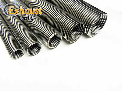Heavy Duty Universal Flexible Stainless Steel Flexi Tube Exhaust Pipe 20mm, 1/2M