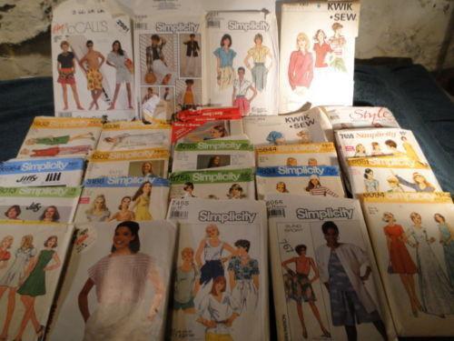 Vintage Sewing Patterns Ebay