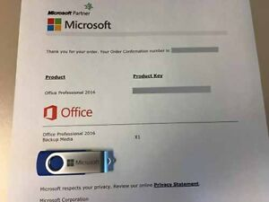 MICROSOFT OFFICE PROFESSIONAL 2016 - GENUINE